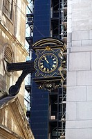 Clock. London. England