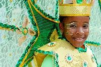 Caribbean Mardi Gras Junior Carnival. Ft. Lauderdale. Florida. USA