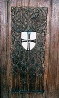 SG A, Architektur, Kirchen und Klöster, Frankfurt, Deutsch-Ordens-Kirche, Wappen des Deutschen Ordens