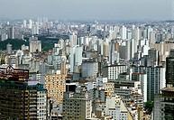 Geo., Brasilien, Sao Paulo, Überblick über die Stadt,  Foto: Wolf Winter