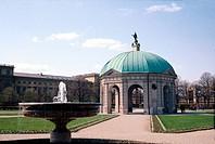 Geo., BRD, Bayern, München, Residenz,  Hofgarten, angelegt 1613 - 1617, Pavillion, erbaut von Heinrich Schön  Herzog, Kurfürst Maximilian I., früher N...