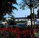 Geo., BRD, Niedersachsen, Norderney, Gebäude, Kurpark Kurhaus, Aussenansicht,   ostfriesland nordsee