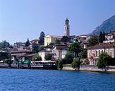 Geografie, Italien, Gardasee, Limone, Stadtansichten, Blick auf den Ort und  Gardasee,  lago di garda lombardei see