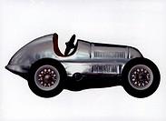 c. SG hist. Spiel, Spielzeug - Autos,  Mercedes Studiorennwagen W 25, Blech, Sondermodell, 1935, Replika von 2000   spielzeugauto, auto, rennwagen,   ...