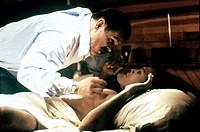 Film, ´Tödliche Fragen´ (Q & A-Question and Answers) USA 1990, Regie: Sidney Lumet, Szene mit: Nick Nolte, Jenny Lumet nach roman von edwin torres, 90...