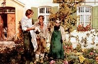 Film, ´Zwei himmlische Dickschädel´, BRD 1974, Regie: Werner Jacobs, Szene mit Reiner Schöne, Siegfried Rauch, Foto: kai press