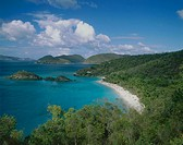 Trunk Bay. St. John. US Virgin Islands. West Indies. Caribbean