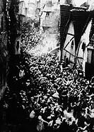 Film, ´Der Golem - Wie er in die Welt kam´, Deutschland 1920, Regie Paul Wegener & Carl Boese, Filmszene,  Prag, fantasyfilm, stummfilm, horror horror...