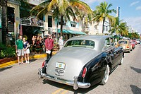 Art Deco Weekend. Ocean Drive. South Beach. Miami Beach. Florida. USA