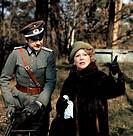 Juhnke, Harald  * 10.6.1929, dt. Schauspieler, zusammen mit Schauspielerin Loni Heuser in ´Preußenkorso´ um 1981  80er jahre, sendung, fernsehsendung ...