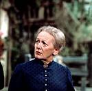 Singerl, Erni, * 29.8.1921, dt. Schauspielerin in einer Fernsehsendung Titel unbekannt   Volksschauspielerin , mit Dirndl, Tracht, bayerisch, bayrisch