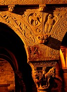 Priory of Serrabona. Pyrenees-Orientales. Languedoc-Roussillon. France