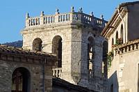 Monastery of Sant Pere. Besalú. Girona province. Catalunya. Spain
