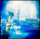 Nelson´s Column. Trafalgar Square. London. England
