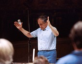 Pierre Boulez, French composer and conductor