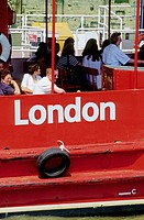 Cruise on the River Thames. London. England
