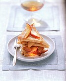 Crepes with Calvados apples (2)