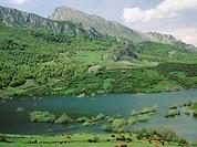 Riaño reservoir. Lario. Leon province. Castilla-Leon. Spain