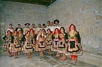 ´Lagartera´ costumes. Toledo. Castilla-La Mancha. Spain