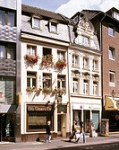Germany, Düsseldorf, North Rhine-Westphalia, old town, civil houses