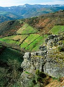 Lor river valley, Courel mountains. Lugo province, Spain