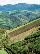 Vilela, Lor river valley, Courel mountains. Lugo province, Spain