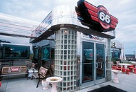Diner in St. Roberts, along Route 66. Missouri, USA