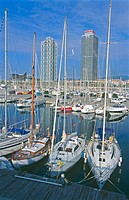 Olympic port. Barcelona. Spain
