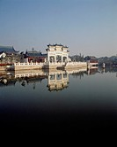 Travel, China, Shanghai, Lakeside, Old buildings