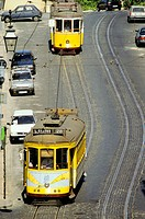 Tramways. Lisbon. Portugal