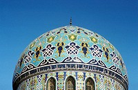Mosque dome. Bagdad. Iraq