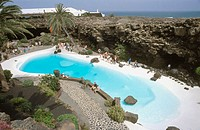 Los Jameos del Agua. Lanzarote. Canary Islands. Spain