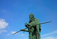 Statue of Guanche Chiefs, Candelaria, Tenerife, Canary Islands, Spain