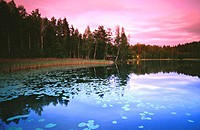 10760506, dusk, evening mood, dusk, twilight, emotion, Finland, feeling, emotion, sky, season, scenery, nature, rest, lake, se