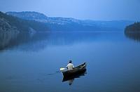 FV5041, Doug Hamilton, Solo Canoist, Killarney Provincial Park, Ontario´