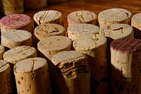 Corks close up
