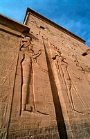 Relief - Philae Temple