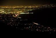 Santa Monica Bay at Night