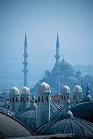 Skyline of Istanbul, Turkey