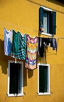 Laundry Drying, Venice, Italy