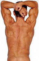 Man´s Muscled Back