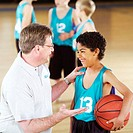 Coaching Youth Basketball Player