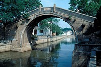 Bridge in Suzhou, China