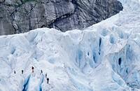 Gletscherwandern am Jostedalsbreen