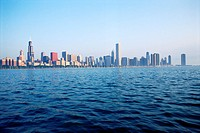 City of Chicago seen across water