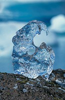 Ice sculptured by nature