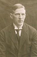 Portrait of Walfrid Bergström
