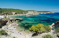 Cala Xarraca. Ibiza, Balearic Islands. Spain