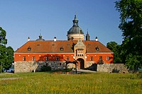 Gripsholms castle in Mariefred. Sweden