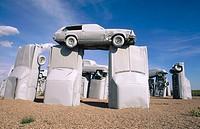 ´Carhenge´ sculpture. Alliance, Nebraska. USA.
